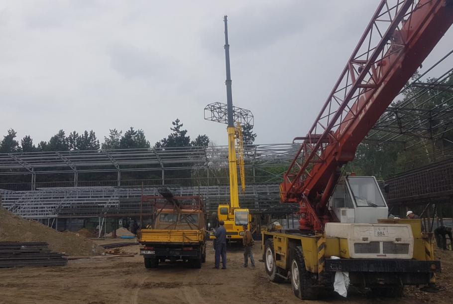 Новая мини-футбольная арена в Кишинёве